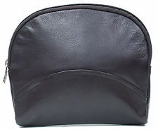 Ashlin® Large Cosmetic and Jewellery bag Tuscany Leather[T7529-18-01]MSR $ 50.95