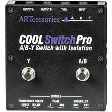 ART CoolSwitch Pro A/B-Y Switch with Isolation NEW! Free 2-Day Delivery!