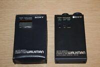 SONY SRF-80 WALKMAN AM/FM Stereo / Mono Vinyl Cover Belt Loop Cover JAPAN