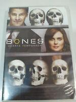 Bones Stagione 4 Quarta - 6 X DVD Spagnolo English + Extra - 3T