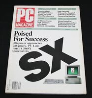 PC Magazine August 1989 Vol 8 #14 386SX Poised for Success