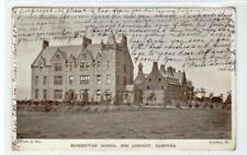 BENEDICTINE SCHOOL AND CONVENT, DUMFRIES: Dumfries-shire postcard (C44363)