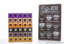 Nestle Nespresso Coffee Pods Variety Pack for OriginalLine, 300 Capsules + Sign