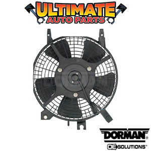 A/C Condenser Cooling Fan (1.6L or 1.8L) 5 Blade for 93-95 Geo Prizm
