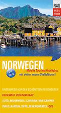 Norwegen - Mobil Reisen - Wohnmobil / Reisemobil Tourguide - Rau Verlag - NEU!