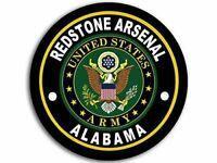 "4"" ARMY REDSTONE ARSENAL ALABAMA   CAR BUMPER STICKER DECAL USA MADE"