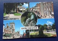 POSTCARD: DORCESTER: MULTI SCENE: USED: POSTED: POST DATE ON CARD IS 2001