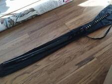 """42"""" MASAHIRO FOLDED STEEL JAPANESE SAMURAI SWORD KATANA w/ WOOD Scabbard Sheath"""