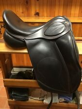 New Brown Leather Dressage Saddle Hulsebos 17