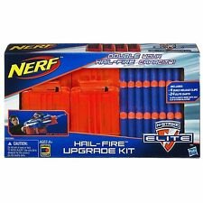Brand New NERF Elite HAIL-FIRE UPGRADE KIT 4 Quick Reload Clips 24 Darts