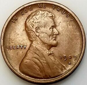 1909 S VDB Lincoln Cent! Sharp! The Key Date coin of the series! NO RESERVE!