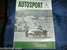 TONY BROOKS VANWALL WIN 1958 SPA FRANCORCHAMPS GP MIKE HAWTHORN BEHRA MUSSO HILL