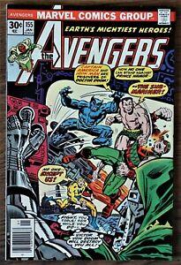 Avengers #155 (1977 Marvel 1st Series) JACK KIRBY Cover, Dr.Doom VF/NM