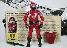 GI Joe 1985 Crimson Guard (v1) 100% (Cobra Elite Trooper)