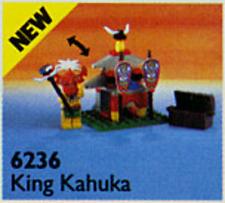 Lego 6236 Pirates I: Islanders: King Kahuka