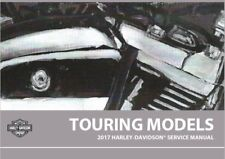 2017 Harley Touring Service Manual Repair with Electrical Diagnostic & Parts CD