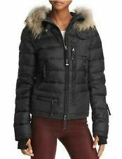 NWT~$998 PARAJUMPERS 2020 Skimaster Fur Trim Black Down Coat Jacket Parka