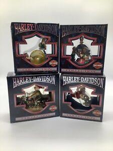 Cavanagh Harley- Davidson Collection Christmas Ornaments (4)