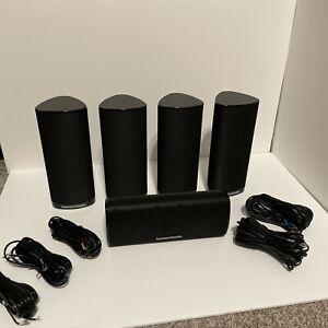 Harman Kardon HKTS18 Set Speakers - 4 Satellites / 1 Center Speaker NEW W/O Box