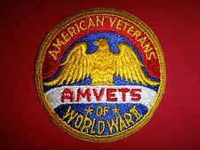 AMERICAN VETERANS AMVETS Of WORLD WAR II Patch