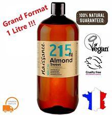 Naissance No.215 100% Pure Huile d'Amande Douce - 1L
