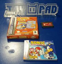2 Games in 1 : Sonic Advance + ChuChu Rocket ![PAL-FAH] - Game Boy Advance - GBA