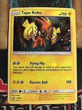 Pokemon Tapu Koko SM30Black Star Promo Holo Rare NM