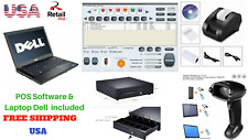 Low price Full Pos all-in-one Point of Sale System Combo Kit Retail Store Laptop