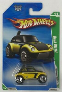 2010 Hot Wheels Treasure Hunts Baja Beetle VW Limited Edition # 11 Of 12