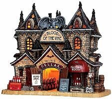 Lemax 35500 BLOOD OF THE VINE Spooky Town Lighted Building Halloween Decor I