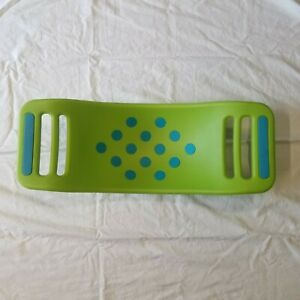 Fat Brain Toys Teeter Popper Kid's Balance Board Active Play Toy BLUE GREEN