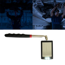 Telescoping Mirror Inspection Vehicle Car Mechanic Adjusting Tool w/ LED Light