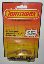 Vintage Matchbox Pontiac Firebird Racer Yellow STP 55 Die Cast Metal 1983 New