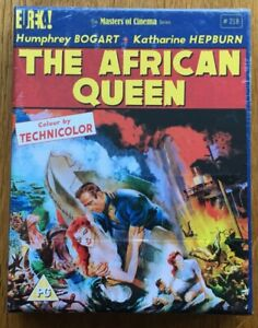 The African Queen Limited Edition Blu-Ray | (Humphrey Bogart) (1951) Brand New