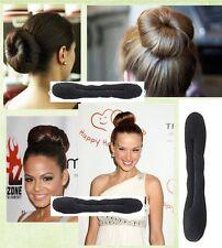 FREE SHIPPING 5PCS Hair Bun Maker Sponge Roller Clip Donut Styling Tool Twist