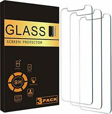 """iPhone 12 Mini Tempered Glass Screen Protector S-Tech 3 Pack 5.4"""" Case Friend..."""