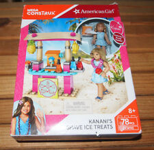 American Girl Kanani's Shave Ice Treats Building Set - NEW IN BOX SEALED