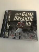 NCAA GameBreaker 99 Complete Game - Tested (Sony PlayStation 1, 1998)