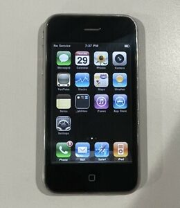 Apple iPhone 3G - 8GB - Black (AT&T) A1241 (GSM) A1241