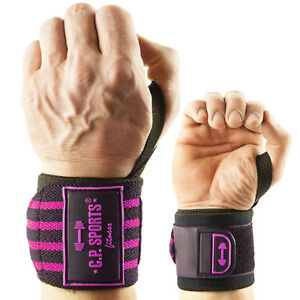 Strongman-Handgelenkbandagen mit extra breitem Klettverschluss C.P. Sports swp