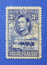 1938 BECHUANALAND PROTECTORATE 3d SCOTT# 128 S.G.# 122 USED              CS20652
