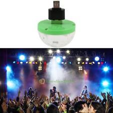 3W Mini 4 LED USB Powered RGB Disco Ball Stage Effect Party Club DJ Light Bulb
