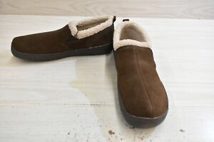 Hideaway by L.B. Evans Roderic Slippers, Men's Size 11 M, Chocolate MSRP $41.95