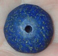17mm Antique Persian Lapis Lazuli Bead, #S2600