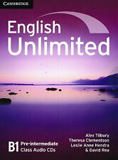 Cambridge ENGLISH UNLIMITED B1 PRE-INTERMEDIATE Class Audio CDs (3) @NEW@