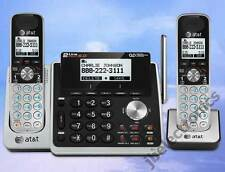 AT&T TL88102 / TL88202 2-LINE DECT 6.0 PHONE SYSTEM - 2 CORDLESS - BRAND NEW