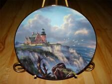 """Harbor Watch"" Guardians Of The Coasts Rudi Reichardt Lighthouse Danbury Plate"