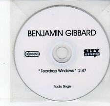 (DS332) Benjamin Gibbard, Teardrop Windows - DJ CD
