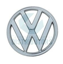 "EMBLEM CHROME FRONT 317mm 12.48"" ""VW"" FITS VW TYPE2 BUS 1950-1967 211853601A"