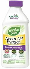 Garden Safe Neem Oil Extract Concentrate Hg-83179